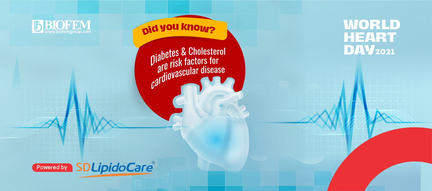 DIABETES AND CHOLESTEROL FOR CARDIOVASCULAR DISEASE
